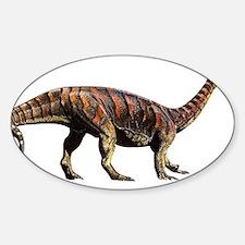 Plateosaurus Jurassic Dinosaur Oval Decal