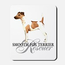 Smooth Fox Terrier Rescue Mousepad