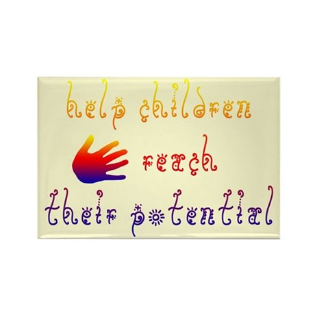 Children's Rights Rectangle Magnet