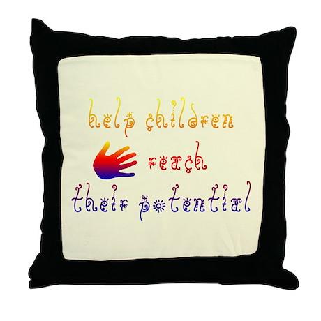 Children's Rights Throw Pillow