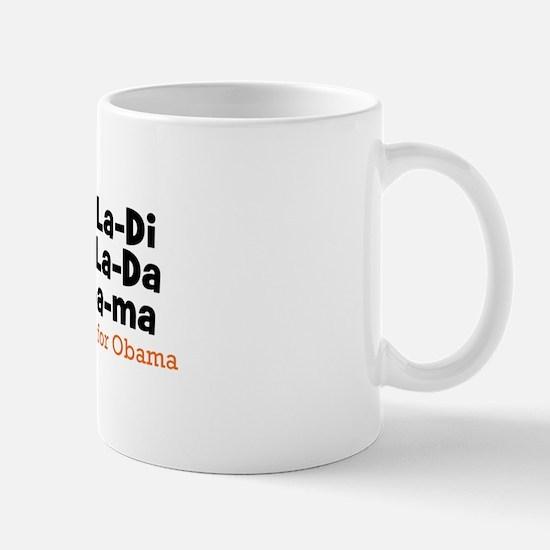 Ob-La-Di Ob-La-Da OBAMA mug