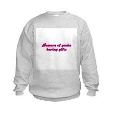 Beware Of Geeks Baring Gifts Sweatshirt