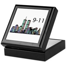 World Trade Center 9-11 Keepsake Box