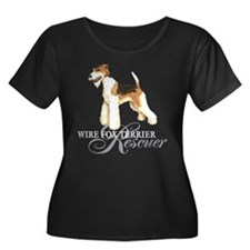Wire Fox Terrier Rescue T