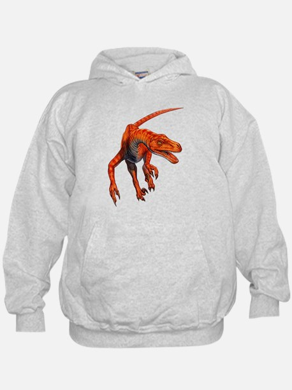 Velociraptor Raptor Dinosaur Hoodie