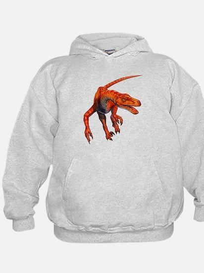 Velociraptor Raptor Dinosaur Hoody