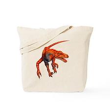 Velociraptor Raptor Dinosaur Tote Bag