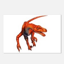 Velociraptor Raptor Dinosaur Postcards (Package of
