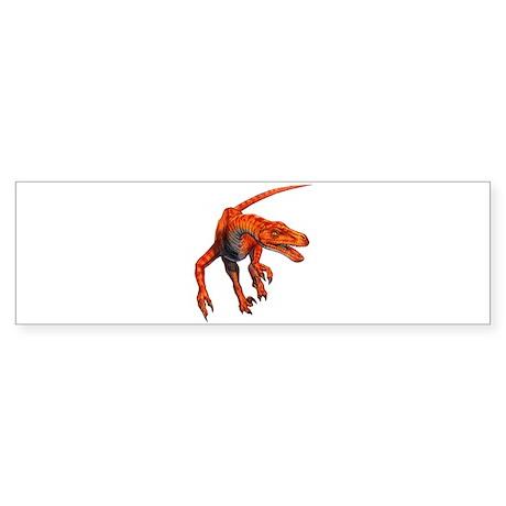 Velociraptor Raptor Dinosaur Bumper Sticker