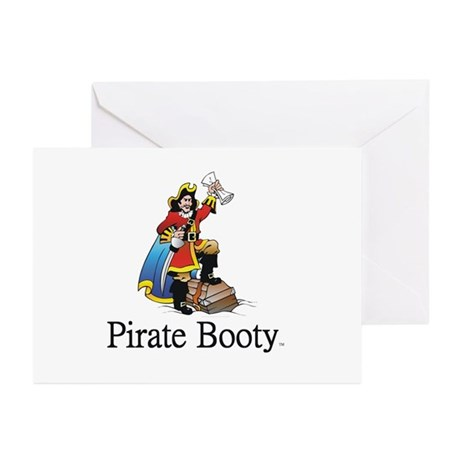 Pirate Booty Greeting Cards (Pk of 10)