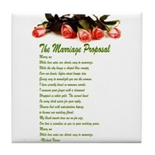 The Marriage Proposal ceramic tile
