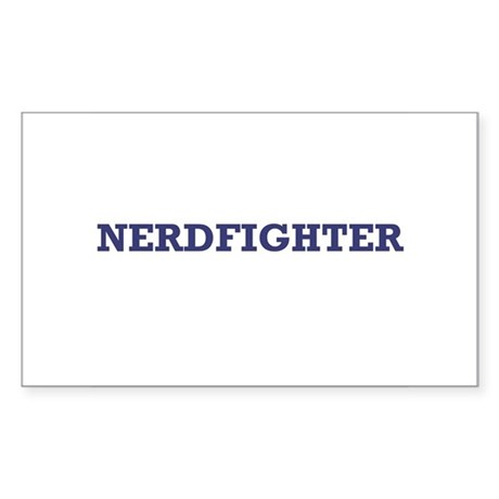 Nerdfighter - Rectangle Sticker