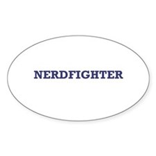 Nerdfighter - Oval Decal