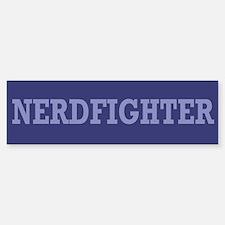 Nerdfighter - Bumper Bumper Bumper Sticker