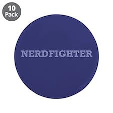 "Nerdfighter - 3.5"" Button (10 pack)"