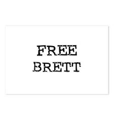 Free Brett Postcards (Package of 8)