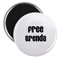 Free Brenda Magnet