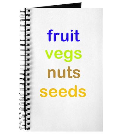 fruit vegs nuts seeds Journal