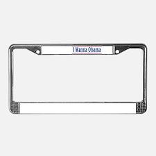 Unique President barack obama occasions License Plate Frame