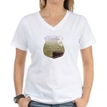 Fireman Women's V-Neck T-Shirt
