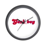 Geek Boy Wall Clock