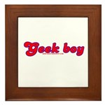Geek Boy Framed Tile