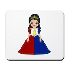 Little Miss Philippines Mousepad