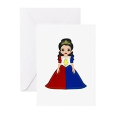 Little Miss Philippines Greeting Cards (Pk of 10)