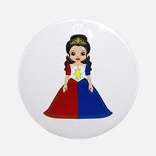 Philippine Princess Ornament (Round)
