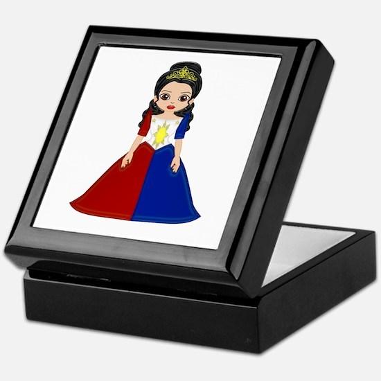 Philippine Princess Keepsake Box