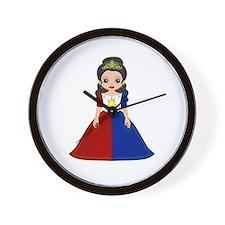 Philippine Princess Wall Clock
