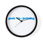 Geek In Training Wall Clock