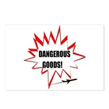 DANGEROUS GOODS! Postcards (Package of 8)