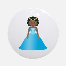 Princess Ebony Ornament (Round)