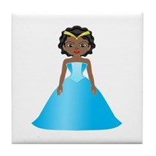 Princess Ebony Tile Coaster