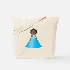 Princess Ebony Tote Bag