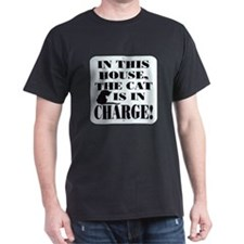 Cat in Charge T-Shirt