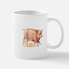 Vintage Oink Piggy Mug