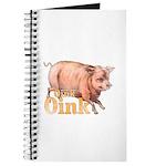 Vintage Oink Piggy Journal
