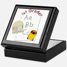 First Grader Keepsake Box