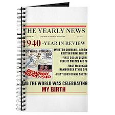 1940-birth Journal