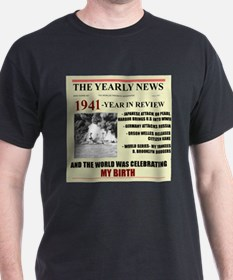 born in 1941 birthday gift T-Shirt