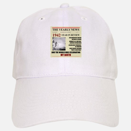 1942-birth Baseball Baseball Cap