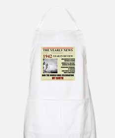 1942-birth BBQ Apron