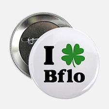 "I Sham Bflo 2.25"" Button"