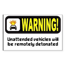 Warning Rectangle Decal