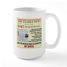 born in 1947 birthday gift Mug