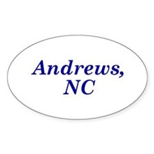 Andrews, NC Oval Decal