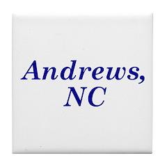 Andrews, NC Tile Coaster