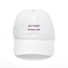 Half Woman Half Sugar Glider Baseball Cap